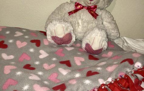 DIY: No sew fleece blanket