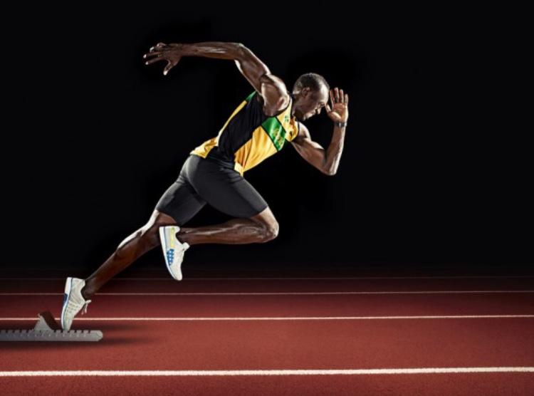 A+sprinter+running