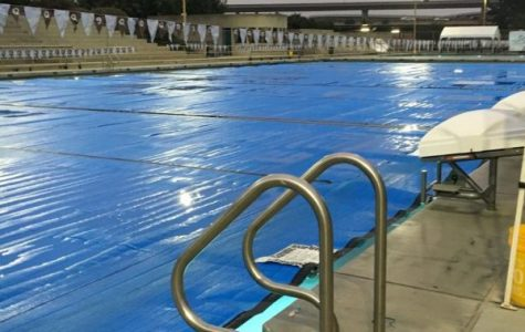 Swim unit on hold due to the racing pool's low temperatures
