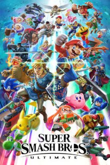 The cover art for Super Smash Bros Ultimate