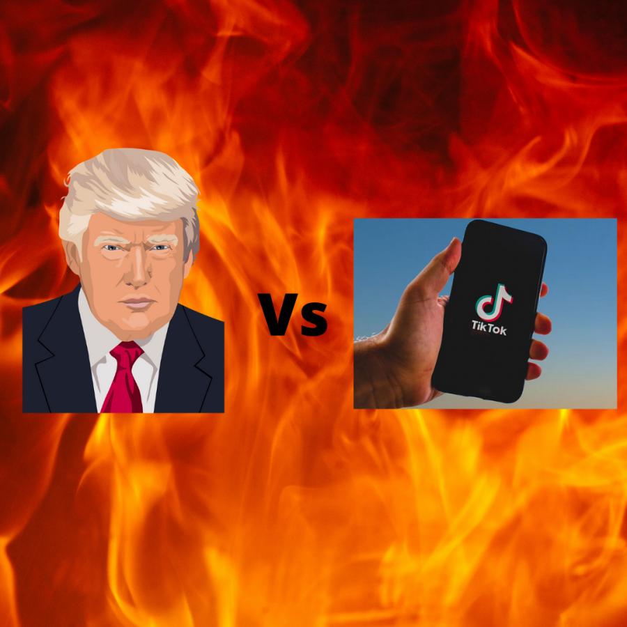 Trump+vs.+TikTok