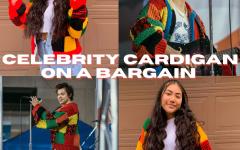 Celebrity Cardigan on a Bargain