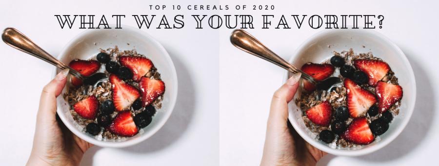 Top Cereals of 2020
