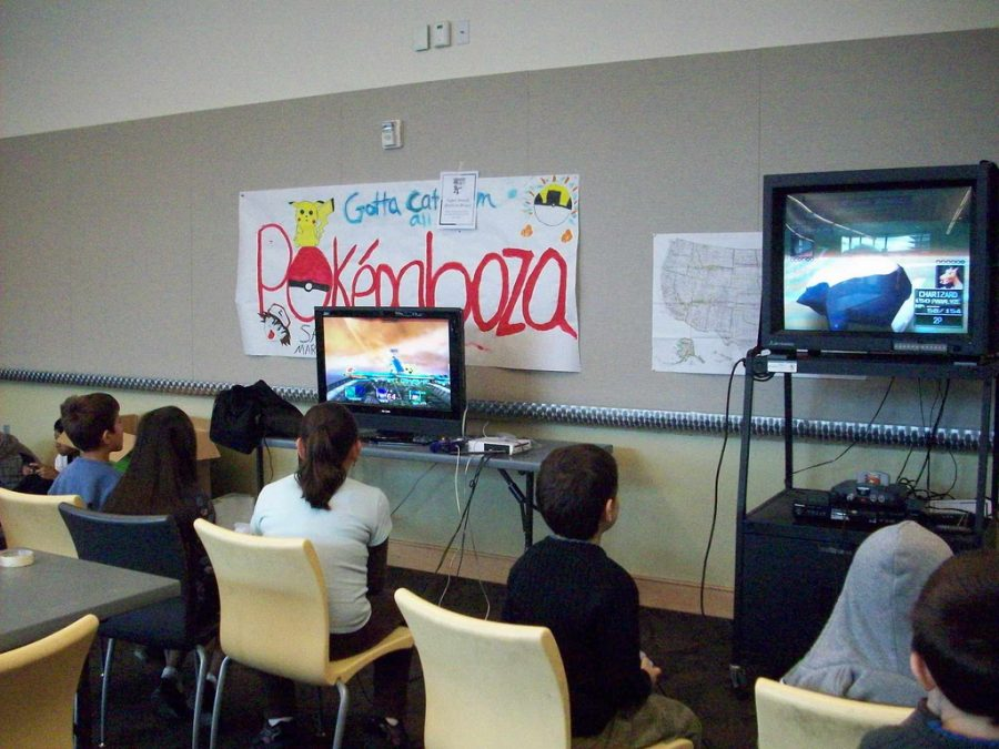 Kids Playing Video Games for Intertainment
