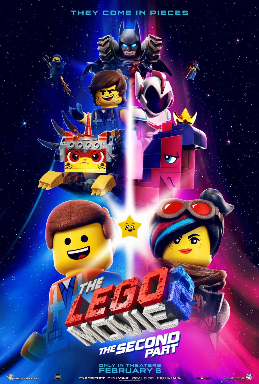 The 2nd Lego Movie assembled in theaters February 8th to overall praise. Image credited to imbd.com and Warner Bros.