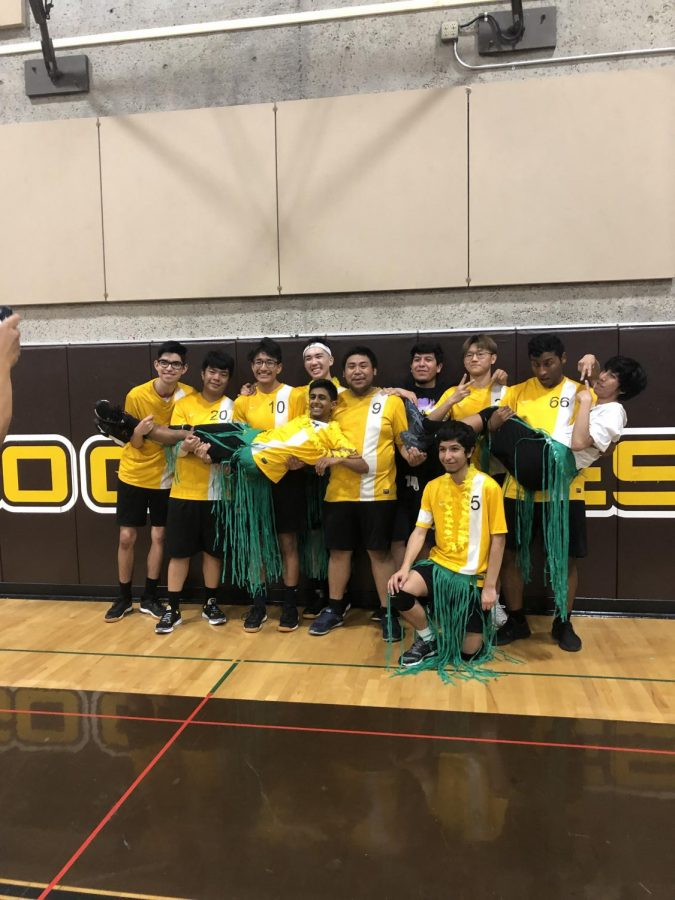 Boy's Varsity Volleyball Senior Night